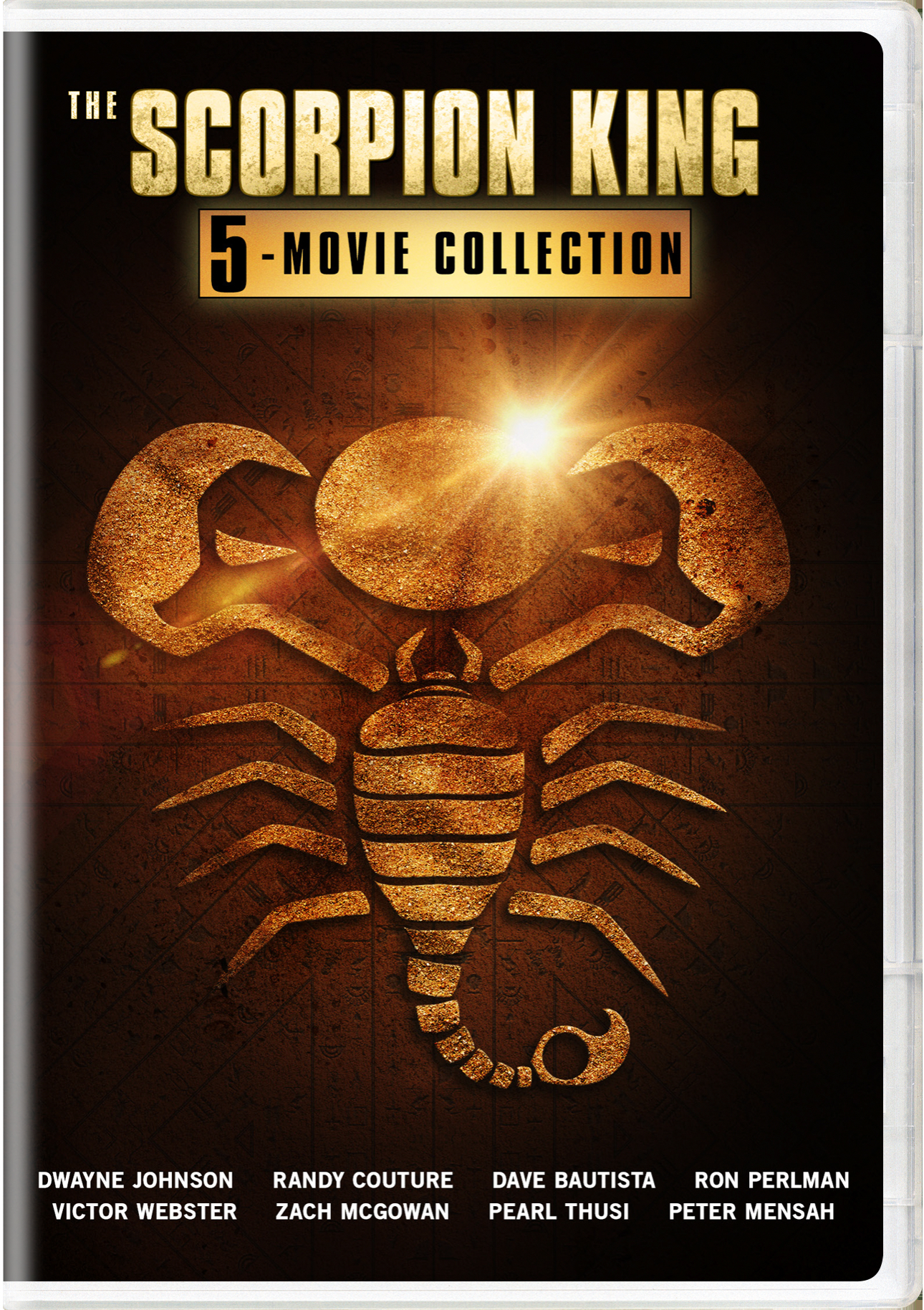The Scorpion King: 5-movie Collection [DVD] | CLICKII.com