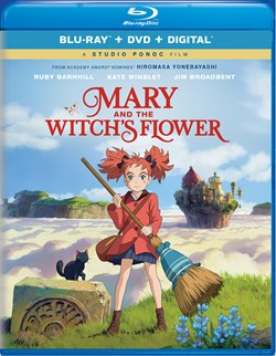 Mary and the Witch's Flower (with DVD) [Blu-ray]