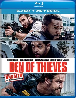 Den of Thieves (with DVD - Double Play) [Blu-ray]