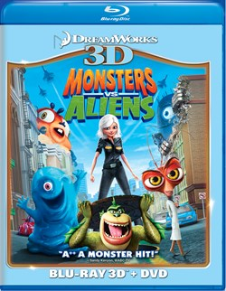 Monsters Vs Aliens (with DVD) [Blu-ray]