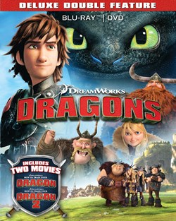 How to Train Your Dragon 1 & 2 (with DVD) [Blu-ray]