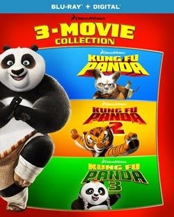 Kung Fu Panda: 3-movie Collection [Blu-ray]