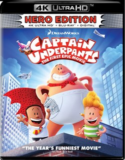 Captain Underpants: The First Epic Movie (4K Ultra HD) [UHD]