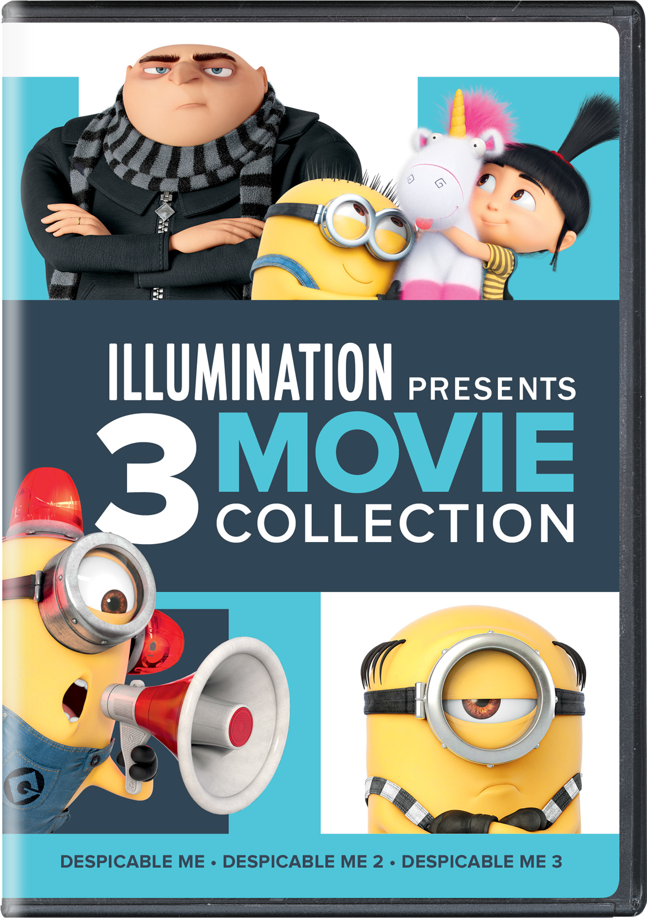 Despicable Me 1-3 [DVD]
