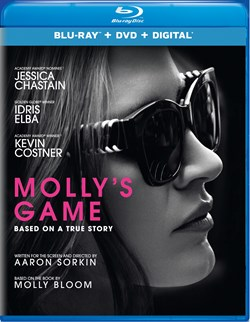 Molly's Game (with DVD) [Blu-ray]
