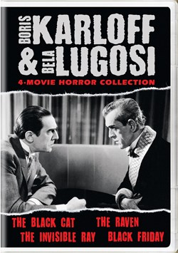 Boris Karloff and Bela Lugosi Horror Classics Collection [DVD]