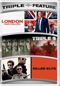 London Has Fallen/Triple 9/Killer Elite [DVD]