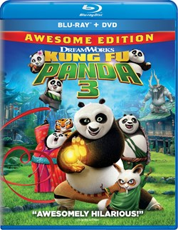 Kung Fu Panda 3 (with DVD) [Blu-ray]