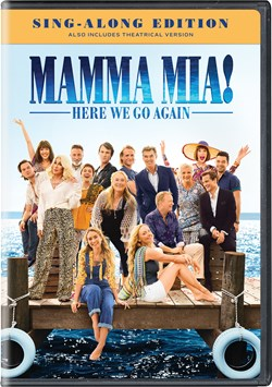 Mamma Mia! Here We Go Again (Normal (Sing-Along Edition)) [DVD]