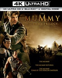 The Mummy/The Mummy Returns/The Mummy: Tomb of the Dragon Emperor (4K Ultra HD) [UHD]