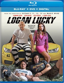 Logan Lucky (with DVD - Double Play) [Blu-ray]
