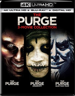 The Purge: 3-movie Collection (4K Ultra HD) [UHD]