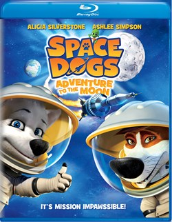 Space Dogs - Adventure to the Moon [Blu-ray]