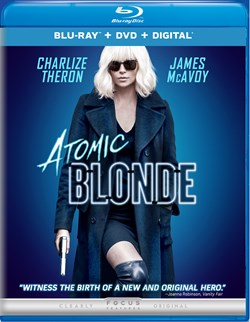 Atomic Blonde (with DVD - Double Play) [Blu-ray]
