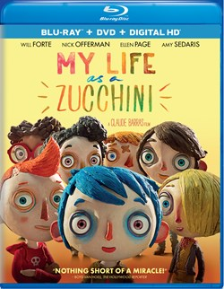 My Life As a Courgette (with DVD) [Blu-ray]