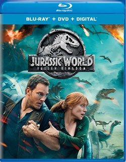 Jurassic World - Fallen Kingdom (with DVD - Double Play) [Blu-ray]
