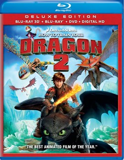 How to Train Your Dragon 2 (with DVD - Double Play) [Blu-ray]
