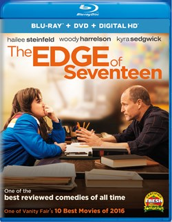 The Edge of Seventeen (with DVD) [Blu-ray]