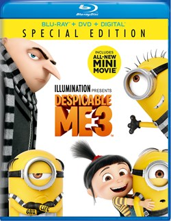 Despicable Me 3 (with DVD) [Blu-ray]