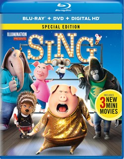 Sing (with DVD) [Blu-ray]