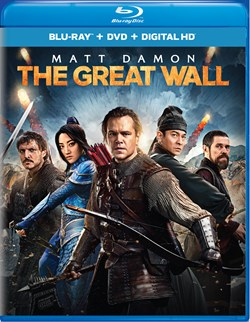The Great Wall (with DVD) [Blu-ray]