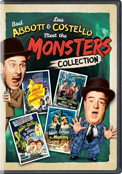 Abbott and Costello Meet the Monsters Collection [DVD]