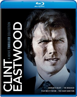 Clint Eastwood: 4-Movie Thriller Collection [Blu-ray]
