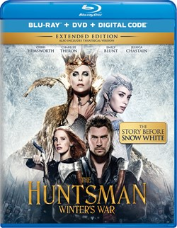 The Huntsman - Winter's War (with DVD) [Blu-ray]