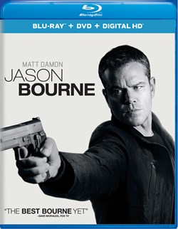 Jason Bourne (with DVD) [Blu-ray]