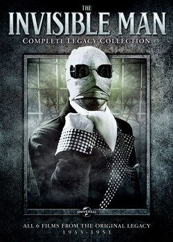 The Invisible Man: Complete Legacy Collection (Box Set) [DVD]