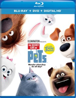 The Secret Life of Pets (with DVD) [Blu-ray]