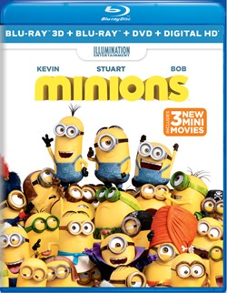 Minions (with DVD) [Blu-ray]