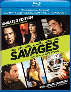 Savages (with DVD - Double Play) [Blu-ray]