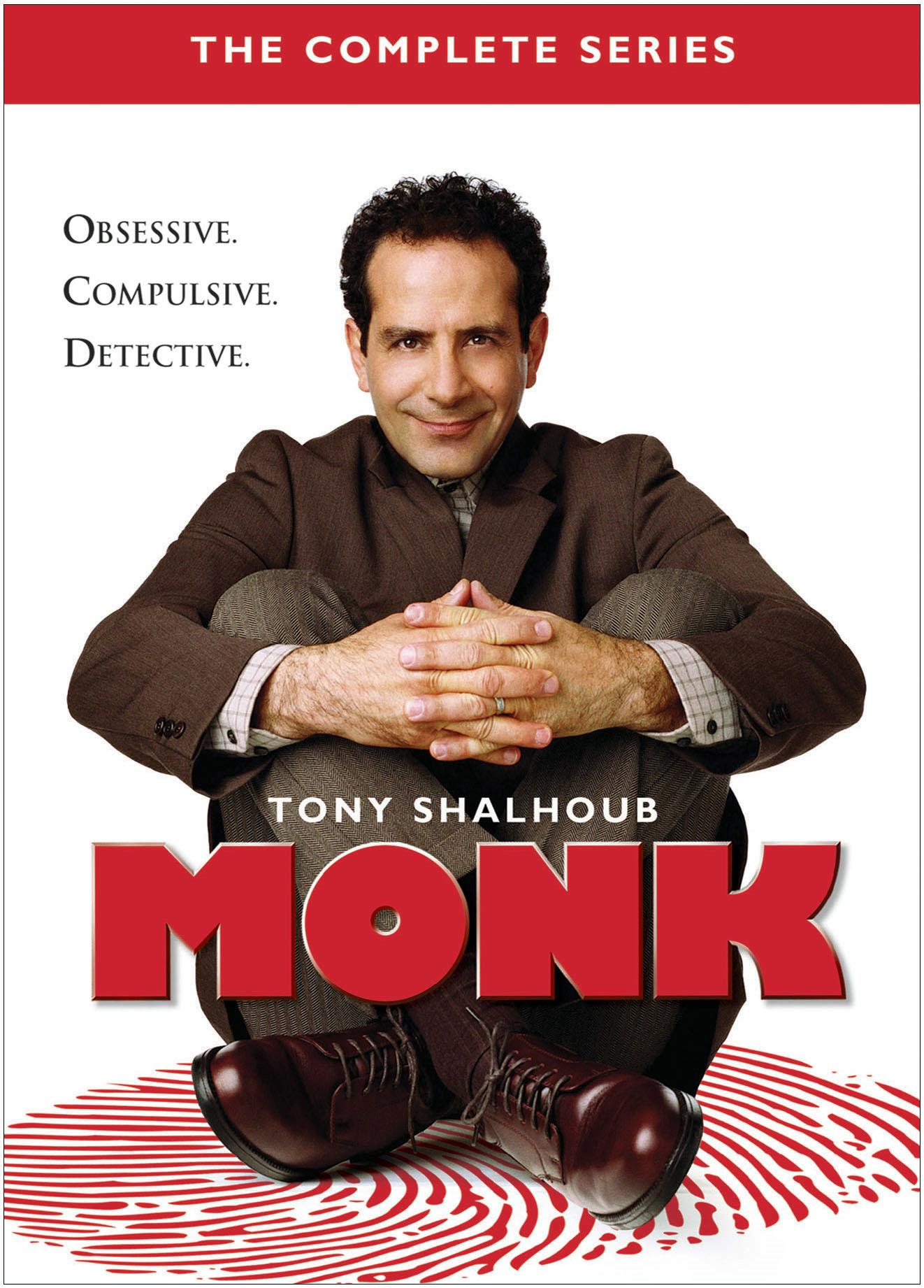Monk: Complete Series [DVD]