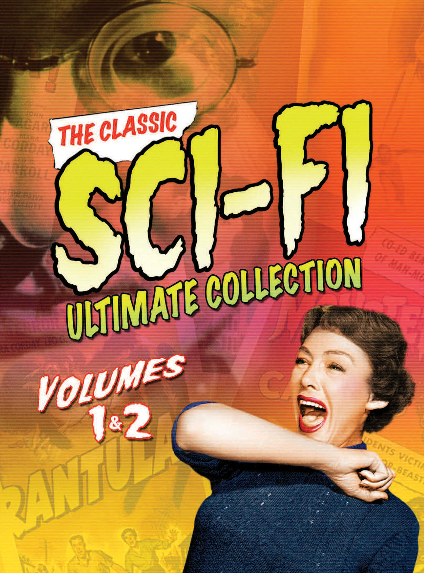 The Classic Sci-Fi Ultimate Collection: Volume 1 & 2 [DVD]