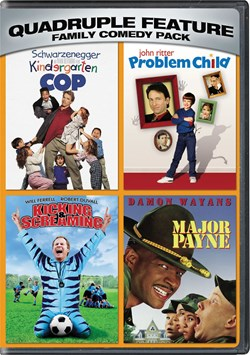 Kindergarten cop/Problem child/Kicking and screaming/Major Payne [DVD]