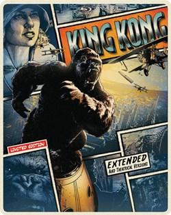 King Kong Steelbook (with DVD) [Blu-ray] [Blu-ray]