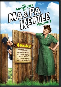 The Adventures of Ma & Pa Kettle: Volume 1 [DVD]