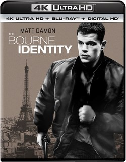 The Bourne Identity (4K Ultra HD) [UHD]