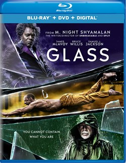Glass (with DVD) [Blu-ray]