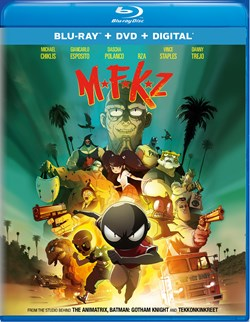 Mutafukaz (with DVD) [Blu-ray]