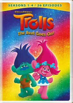 Trolls: The Beat Goes On! - Seasons 1 - 4 [DVD]