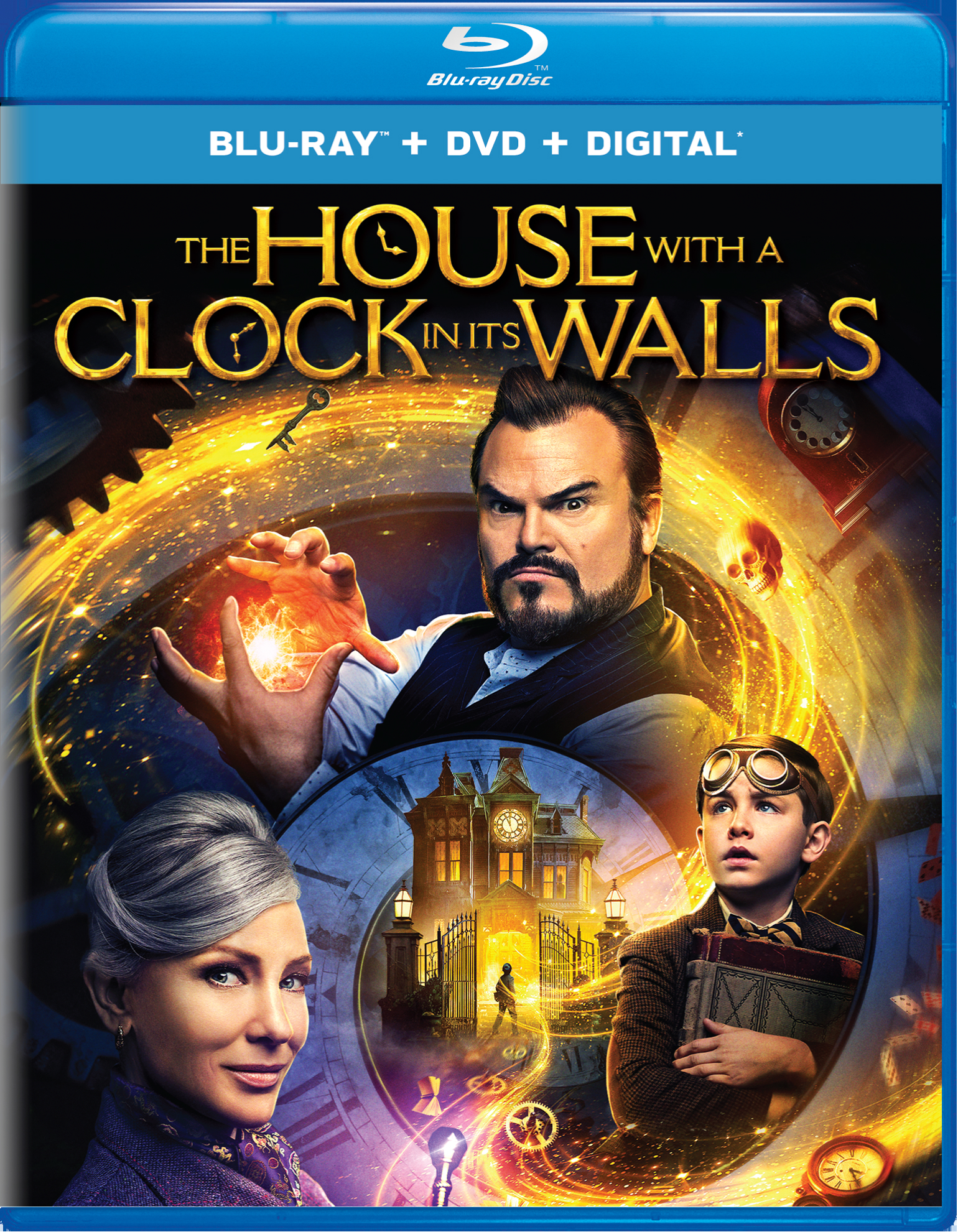 The House With a Clock in Its Walls (with DVD - Double Play) [Blu-ray]