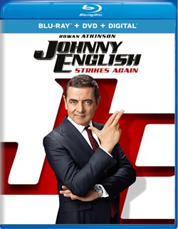 Johnny English Strikes Again (with DVD) [Blu-ray]