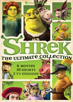 Shrek: The 4-movie Collection [DVD]