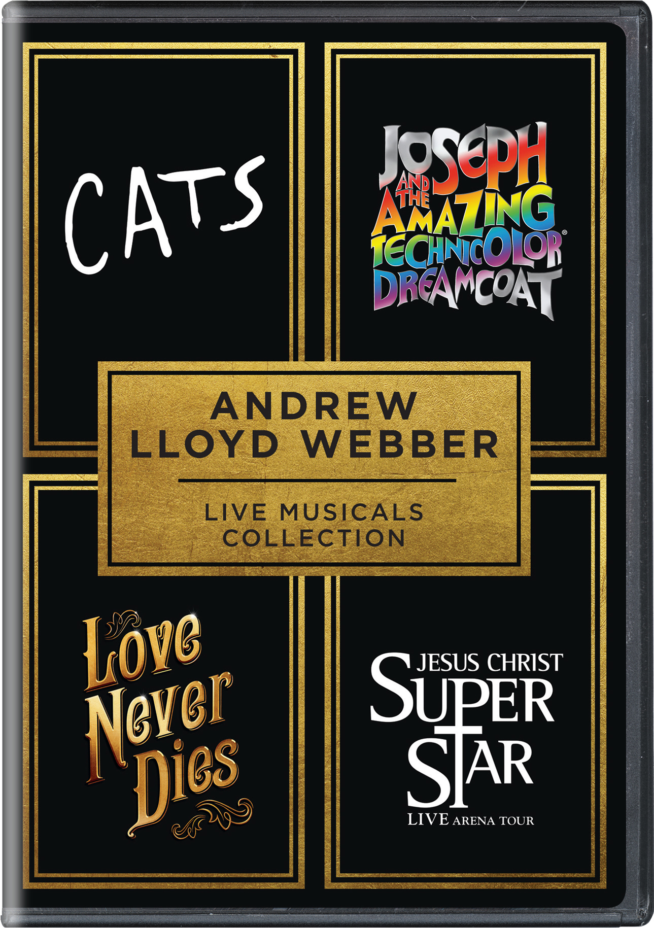 Andrew Lloyd Webber Live Musicals Collection [DVD]