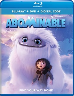 Abominable (with DVD and Digital Download) [Blu-ray]