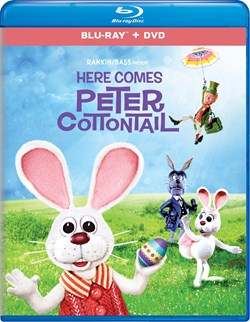 Here Comes Peter Cottontail (with DVD) [Blu-ray]