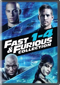 Fast & Furious Collection 1-4 [DVD]