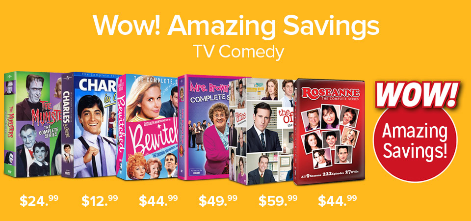 WOW Amazon Savings TV Comedy
